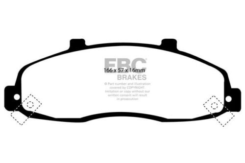 97 /> 99 EBC Ultimax Front Brake Pads for Ford F-150 4WD