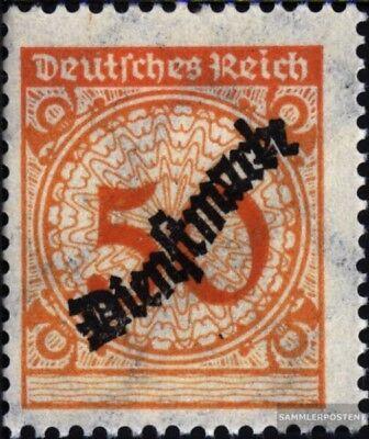 Deutsches Reich Kreativ Deutsches Reich D103 Postfrisch 1923 Dienstmarken Entlastung Von Hitze Und Sonnenstich