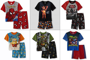 Image is loading Boys-Pajamas-Size-10-12-14-16-Five-