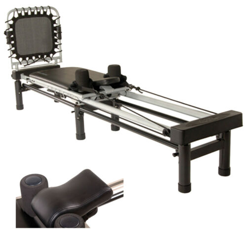Stamina AeroPilates 266 Pilates Reformer with Head and Neck Support Pillow