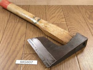 Japanese-vintage-Carpentry-Tool-NATA-AXE-ONO-Hatchet-Woodworking-335mm-MG807
