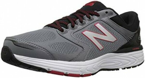 NEW Mens New Balance 560v7 Silver Black Team Red Lace Up Running shoes AUTHENTIC