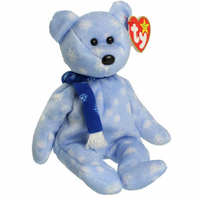 1999 HOLIDAY TEDDY BEAR 1999 TY BEANIE BABY Stuffed Animal Christmas Decoration!