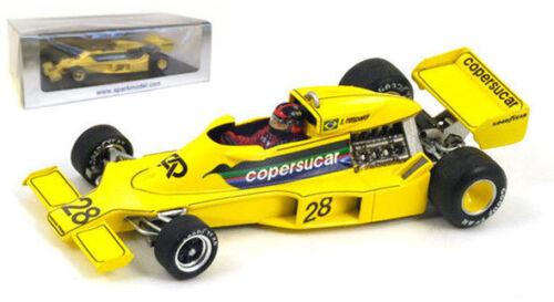 Spark S3930 Copersucar F5 #28 Belgium GP 1977 Emerson Fittipaldi 1//43 Scale