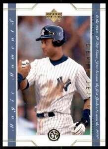 2003 Upper Deck Magic Moments Derek Jeter New York Yankees #MM10