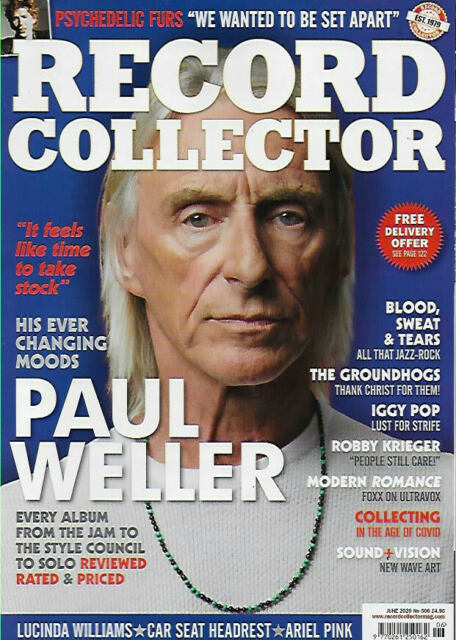 RECORD COLLECTOR Magazine June 2020 #506