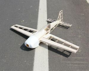 RC Aereo Laser Cut Balsa Aeroplano Kit Apertura alare 1000mm Aereo Modello Toys