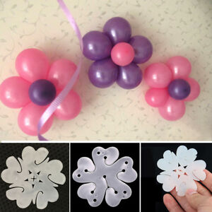 Flower-Shape-Clips-Balloon-Clip-Balloons-Accessories-Party-Decor-1-10pcs-Tools