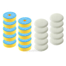 Washable Pre & Post Motor Filter Pads Kit (Non-HEPA) for Dyson DC14 Vacuum x 10