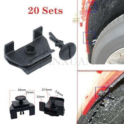 20 Sets 53879-58010 47749-58010 Car Fastener Clips /& Pin Kit for Toyota Lexus