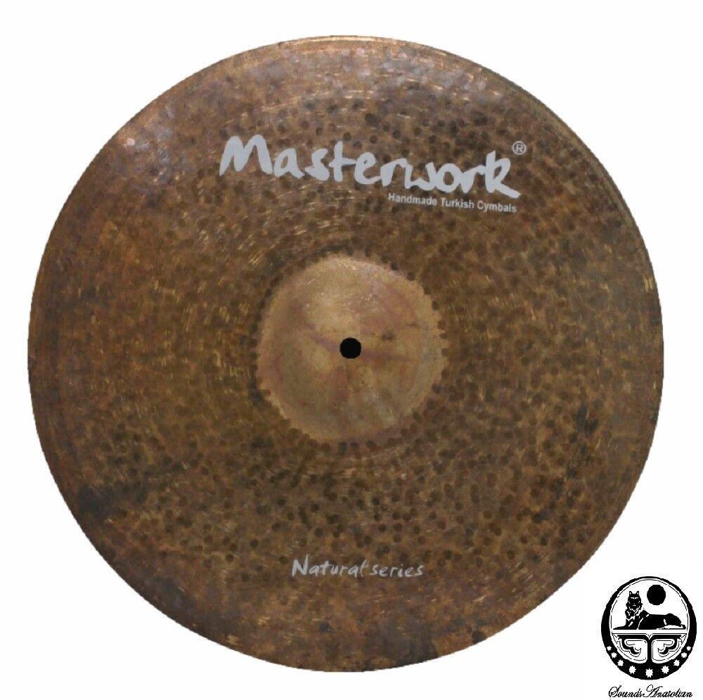 Masterwork Cymbals 21-inch Natural Crash Ride