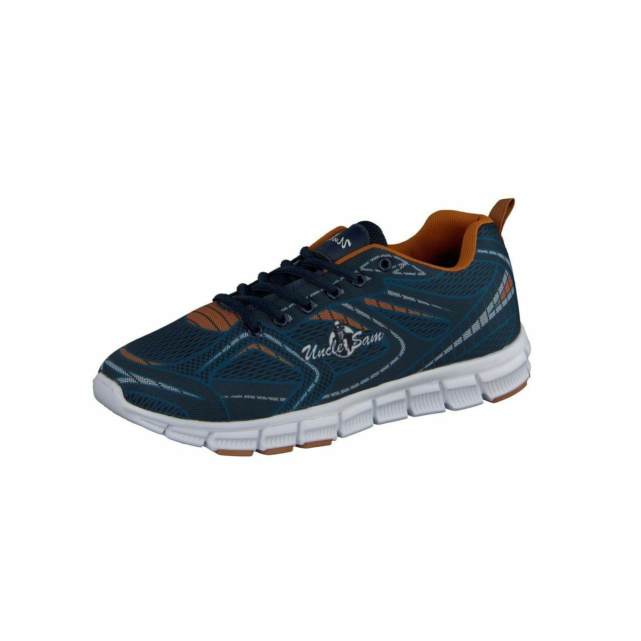 Uncle Sam Men's Sea ess Leichtlaufschuh Running shoes  Navy orange  big savings