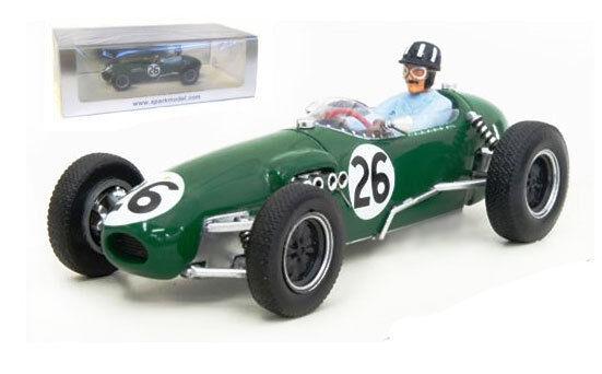 Spark s1833 lotus 12   26 gp monaco 1958-Graham Hill, échelle 1 43,
