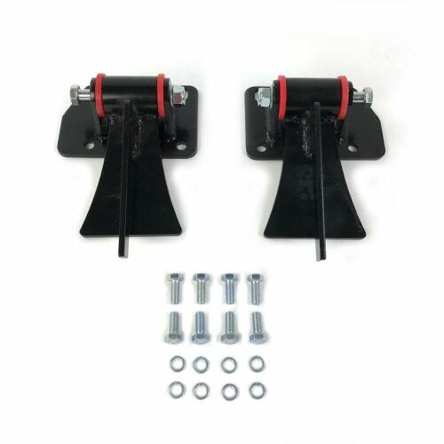 Chevy LS Series Weld In Motor Mount Set Engine /& Frame Brackets LSX LS1 LS3 LS6