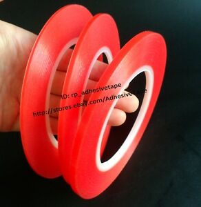 0-2mm-Thick-25M-roll-Strong-Two-Sides-Sticky-Acrylic-Clear-Tape-for-Battery-LCD