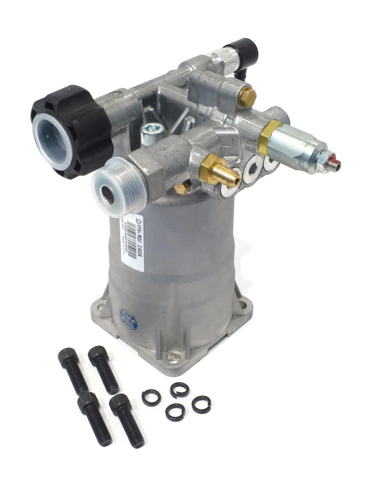 Nuevo 2600 PSI Hidrolimpiadora Bomba De Agua Coleman PowerMate PW0912400 & .01 .02