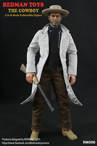 REDMAN TOYS RM020 The Drifter COWBOY Clint Eastwood 1//6 Figure in stock