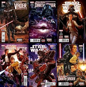 Star-Wars-13-14-Darth-Vader-13-14-15-VADER-DOWN-1-Complete-6-issue-Set