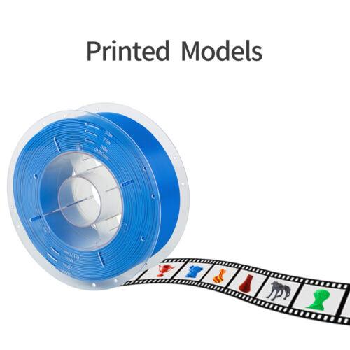 Creality 1.75mm PLA//PETG Filament 1kg For Anycubic I3 Mega Ender 5//3 CR-10S Pro