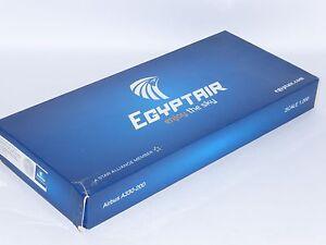Airbus A330-200 Egyptair Egypt Air Aero le Plane Collectors Model Scale 1:200 J