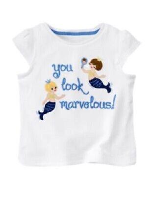 3T new NWT GYMBOREE girls GREEK ISLE STYLE 100/% Cotton Blue Tee Shirt Top sz 2T