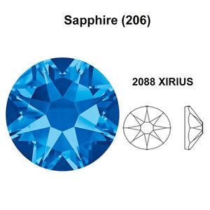 Image is loading SAPPHIRE-206-blue-Genuine-Swarovski-2058-amp-2088- 0d3fc9e3e3e7