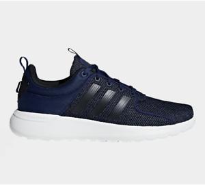 Details about Men's Adidas Cloudfoam Lite Racer B44731 Trainers Dark Blue UK 6-11