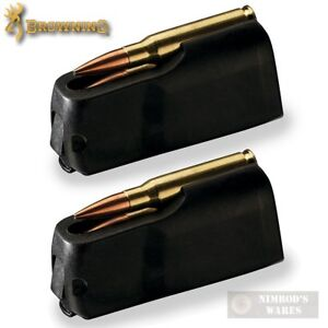 Details about TWO BROWNING X-BOLT 26 Nosler 28 Nosler 3 Round MAGAZINES  Magnum 112044605