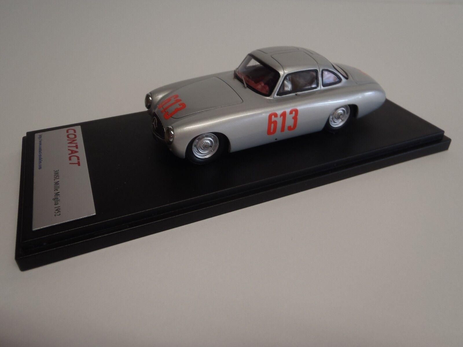 300sl Mercedes 1952 - w194 Miller milia cuarto lugar