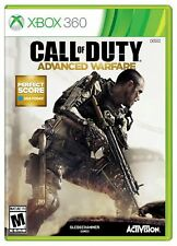 Xbox 360 Call Of Duty: Advanced Warfare Video Game multiplayer shooter combat