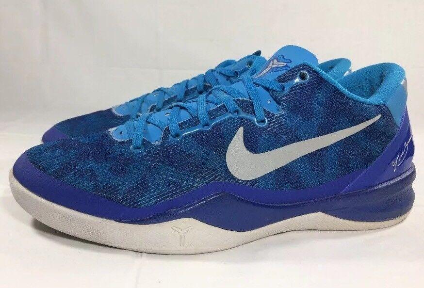 Nike 12 Kobe VIII 8 System Blue Coral Men's 12 Nike Mamba Lakers Air Zoom e7c9e5