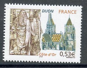 Stamp / Timbre France N° 3893 ** Dijon Cote D'or Forte RéSistance à La Chaleur Et à L'Usure