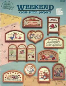 Counted-Cross-Stitch-Patterns-Weekend-Cross-Stitch-Projects-24-Projects