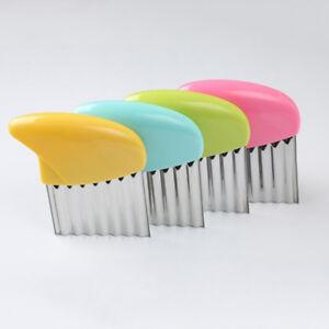 Am-HR-Stainless-Steel-Potato-Chips-Vegetable-Crinkle-Wavy-Cutter-Slicer-Knife
