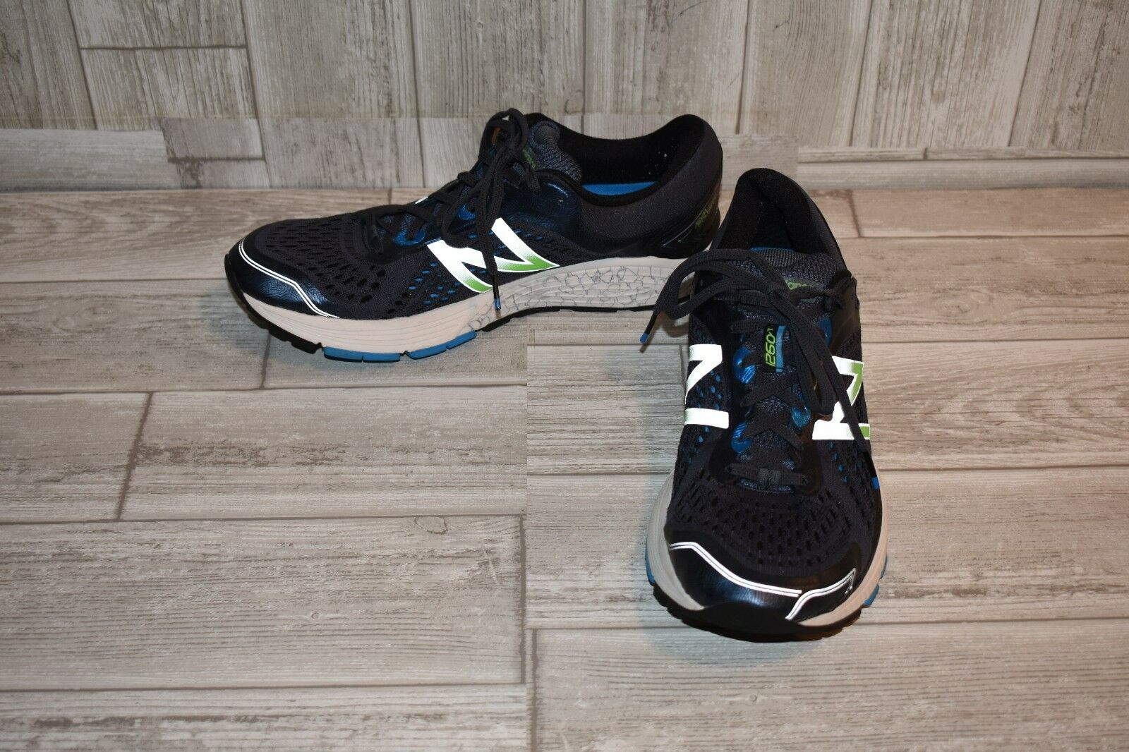 New Balance Stability 1260v7 Running shoes, Men's Size 10D, Navy bluee Lime