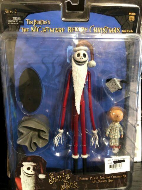 FIGURE NIGHTMARE BEFORE CHRISTMAS SANTA JACK SERIES 2 TIM BURTON/'S JACK CINEMA