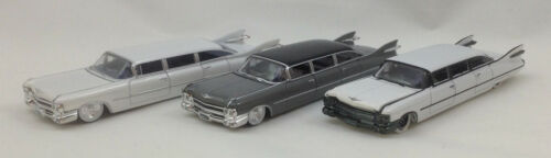 M2 Machines Stretch Rods EXCLUSIVE RELEASE 1959 Cadillac Set of 3 Pcs