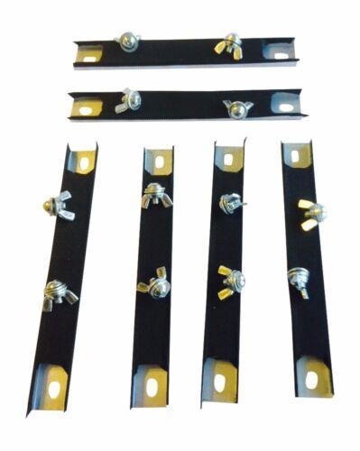 Dealer Test Drive Magnet Six 6 Magnetic License Plate Holders Plate Tag