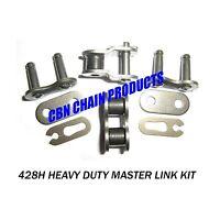 Go Kart 428h Master Link Kit, Pro-grade