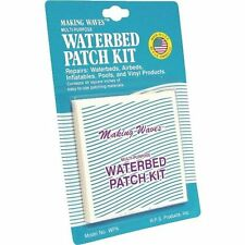 LARGE WATERBED / AIR MATTRESS VINYL REPAIR PATCH KIT- CAMP FISH VACATION