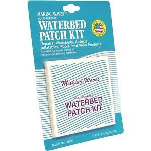 Large Waterbed Air Mattress Vinyl Repair Patch Kit Camp