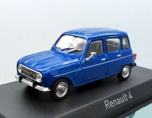 1-43-Norev-Renault-4-Blu-Die-cast-model-car