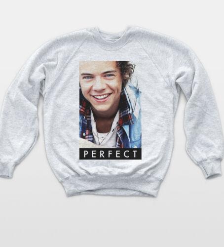 Harry One Styles Sweatshirt Direction Music Jumper Indie Festival Cute Sweat Top