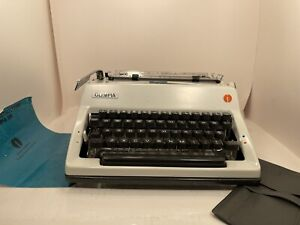 Olympia SM9 Deluxe Typewriter Vintage with Original Case & Manual W. Germany