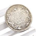 Feng Shui Chinesisch Qing-Dynastie Antik Drachen Münzen Reichtum Glückbringer