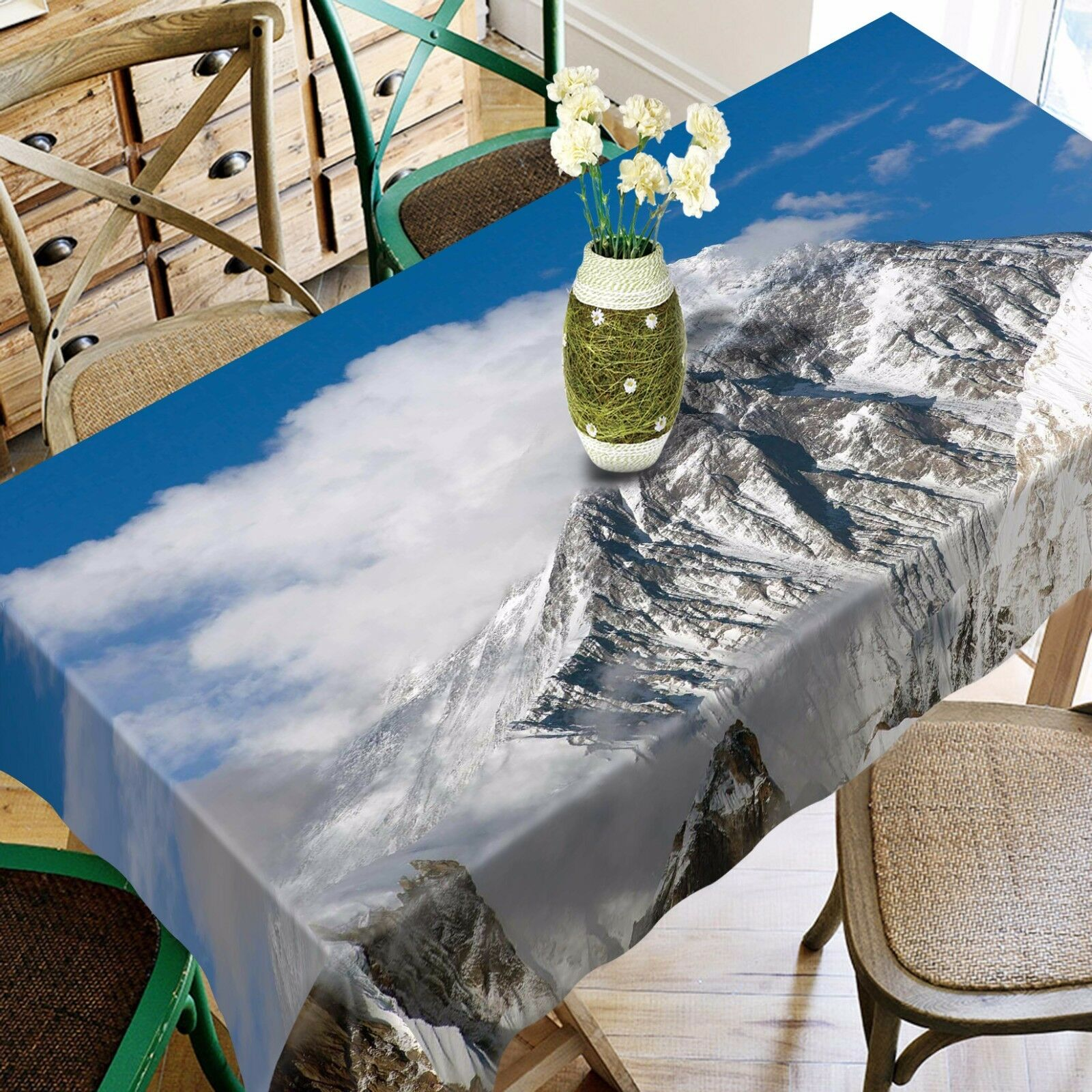 3D Tind 4876 Tablecloth Table Cover Cloth Birthday Party Event AJ WALLPAPER AU