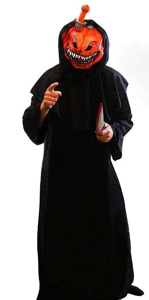 Halloween   Gothik Evil Pumpkin König Herren Maskenkostüm SML-XXXXL       Queensland