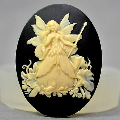 Cameo FAIRY  Silicone Mould Cupcake, Sugarcraft, Fimo (14)