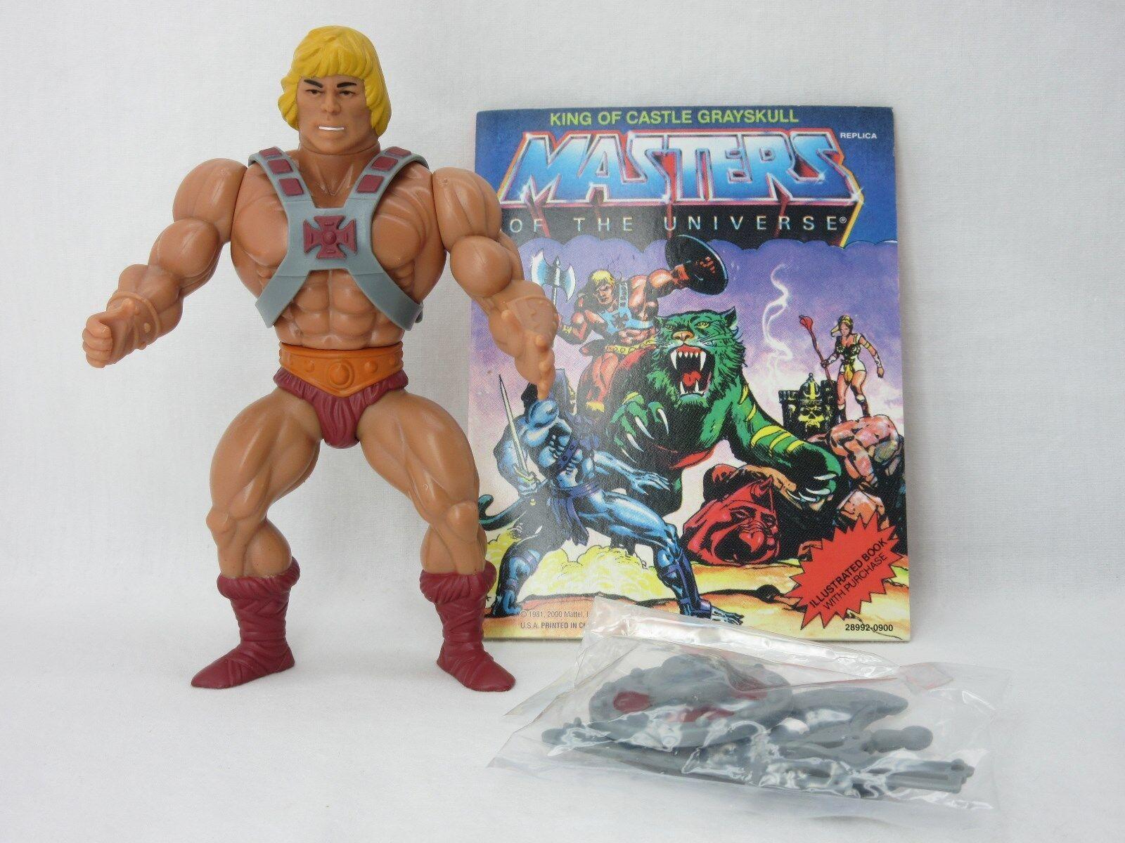 Amos del Universo, Conmemorativa He-man, amos del universo, 100% COMPLETO, Comic, él hombre