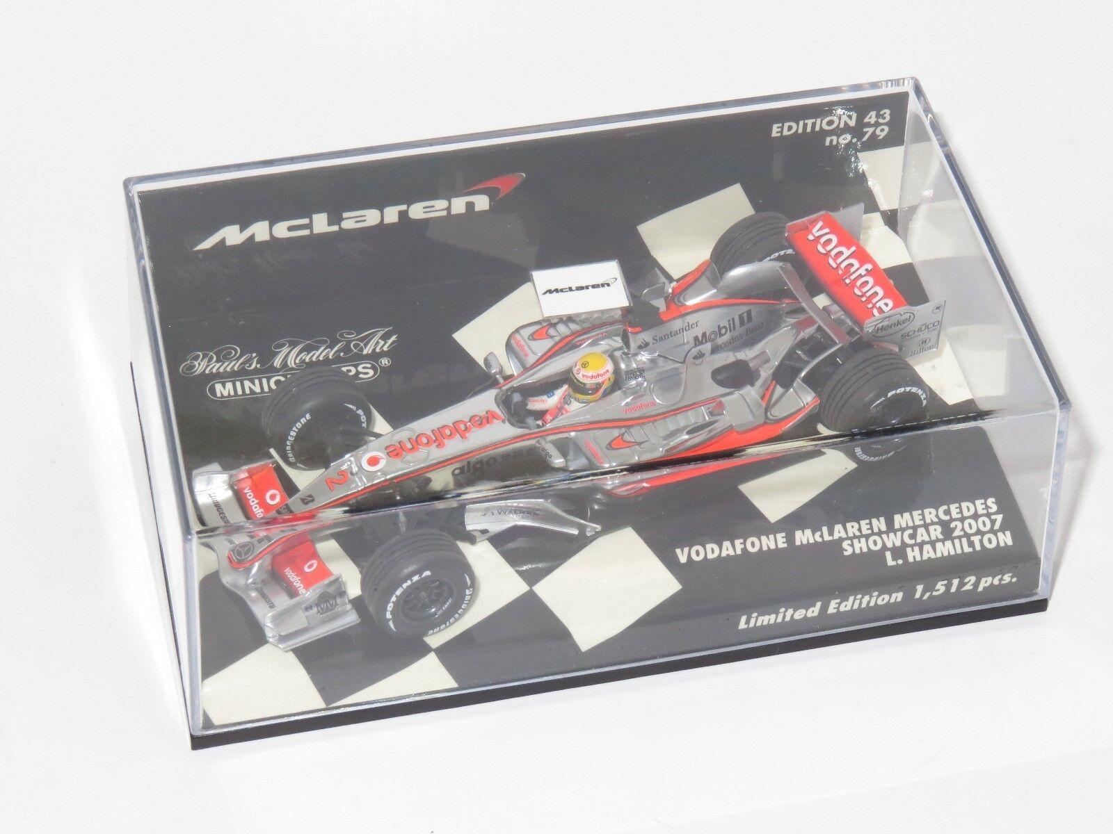 1 43 McLaren Mercedes Showcar 2007 Lewis Hamilton